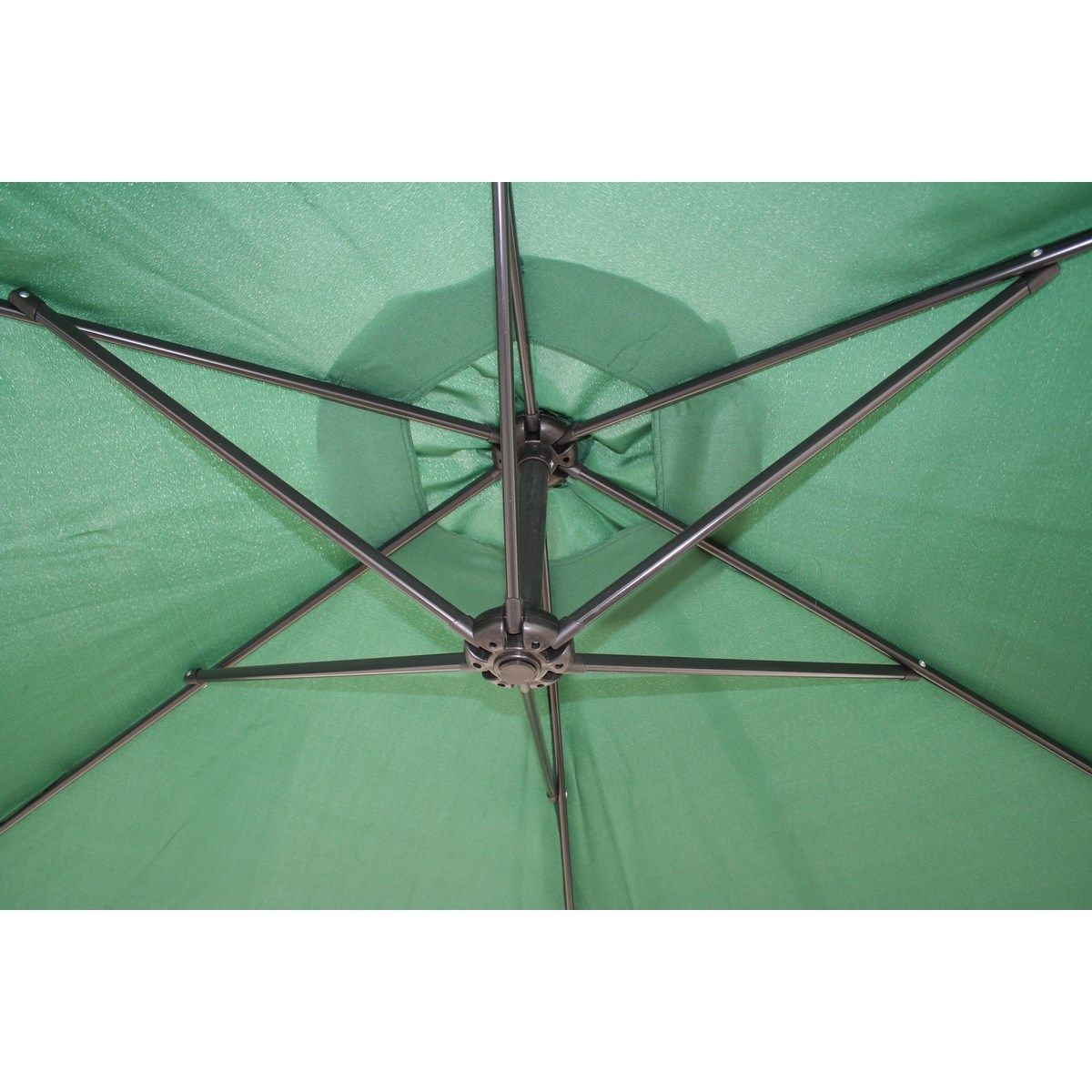 6d00e5f79 Happy Green Závesný slnečník zelená, 300 cm - Bytové doplnky a dekorácie