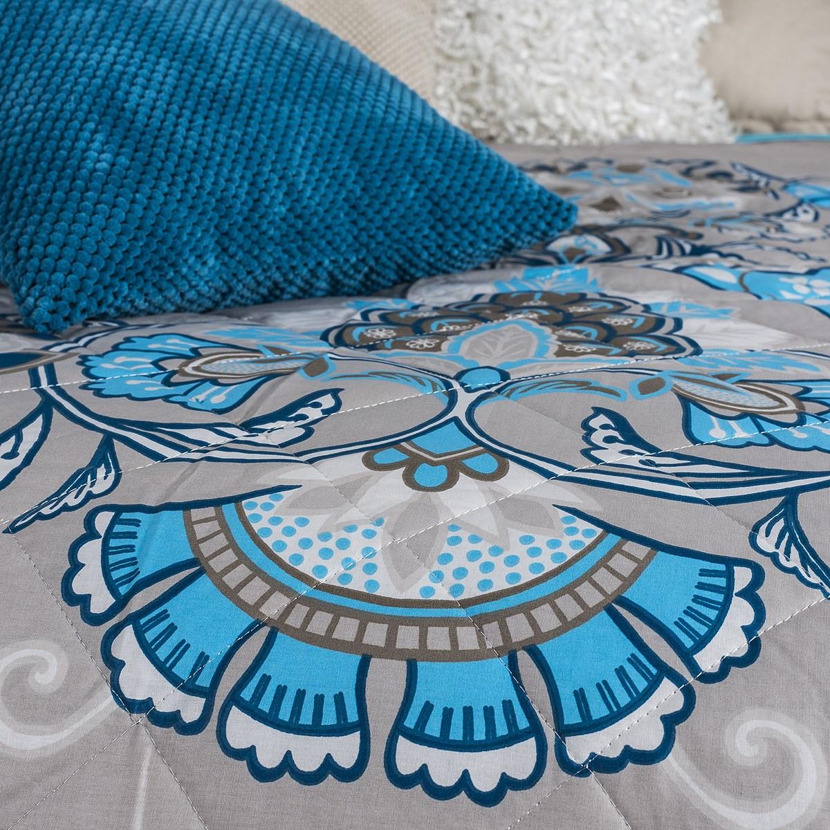 prehoz na poste laissa tyrkysov 160 x 220 cm bytov doplnky a dekor cie. Black Bedroom Furniture Sets. Home Design Ideas