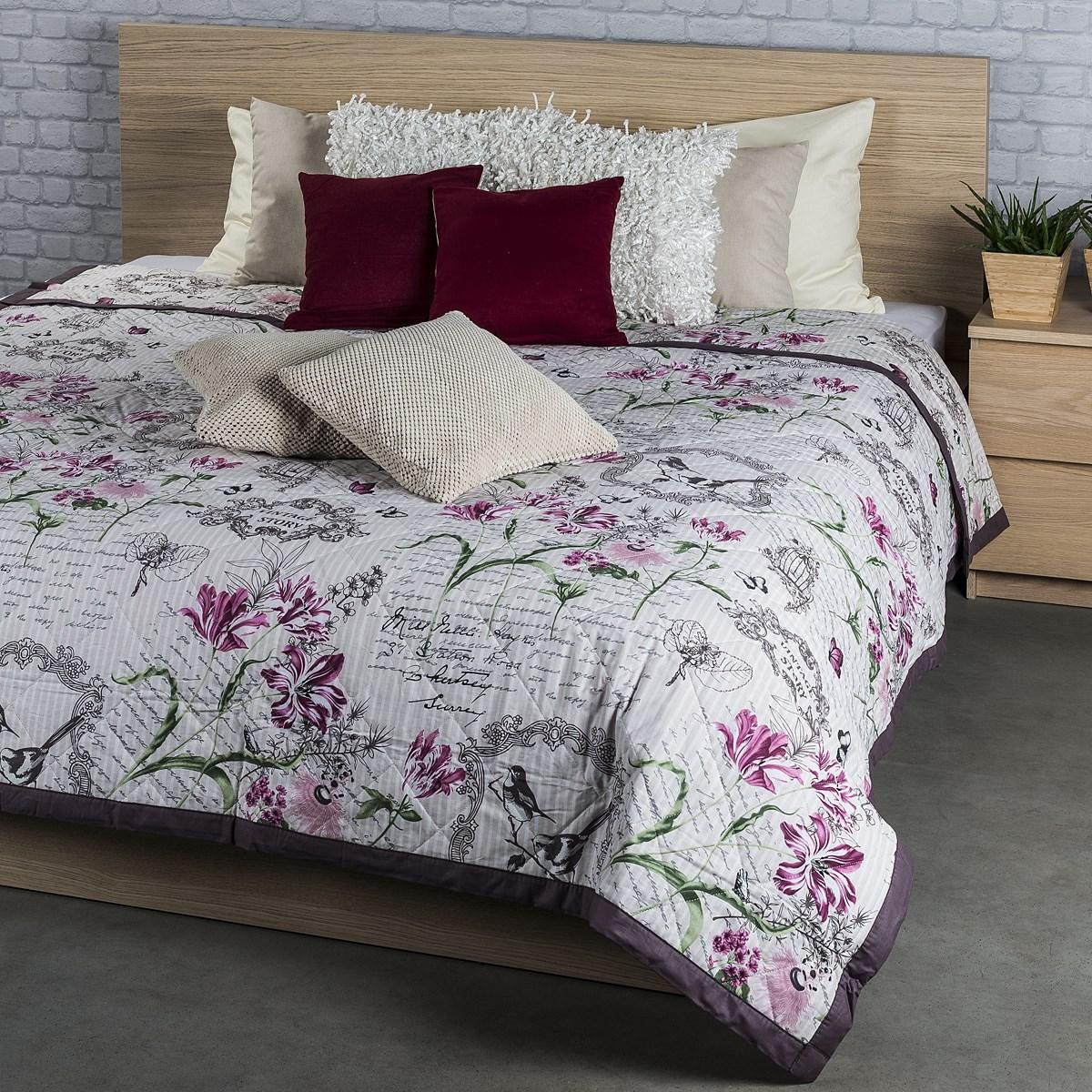 prehoz na poste valeria fialov 160 x 220 cm bytov doplnky a dekor cie. Black Bedroom Furniture Sets. Home Design Ideas