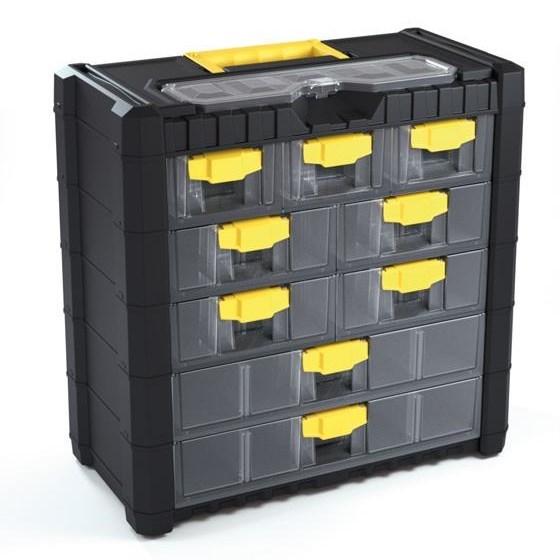 b081ca6fa0509 Závesný box na skrutky 9 priehradiek XL - Bytové doplnky a dekorácie